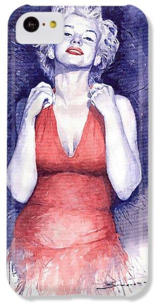 Marilyn Monroe IPhone 5c Case by Yuriy  Shevchuk