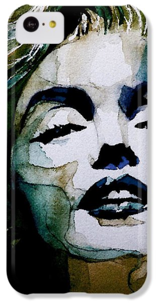 Marilyn No10 IPhone 5c Case by Paul Lovering