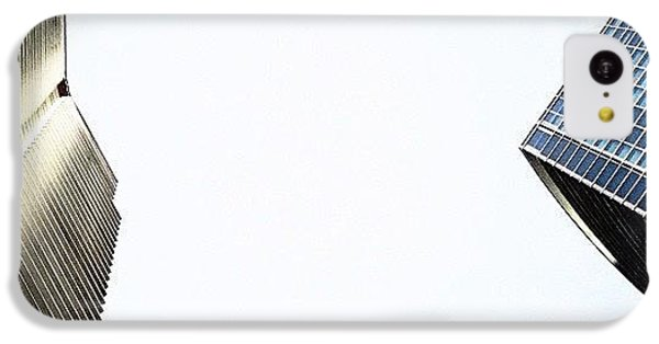 Iger iPhone 5c Case - Marina Blue Bldg. & 1800 Club Bldg. - by Joel Lopez