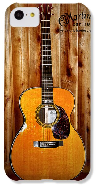Martin Guitar - The Eric Clapton Limited Edition IPhone 5c Case by Bill Cannon