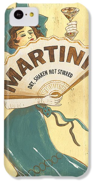 Martini Dry IPhone 5c Case by Debbie DeWitt