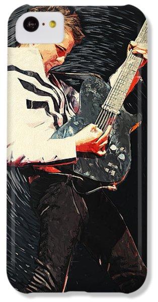 Coldplay iPhone 5c Case - Matthew Bellamy by Zapista Zapista