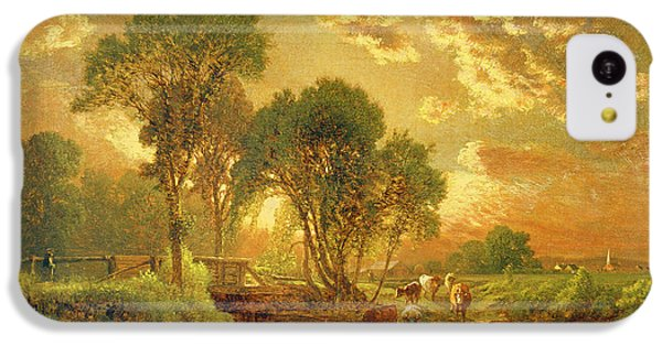Rural Scenes iPhone 5c Case - Medfield Massachusetts by Inness