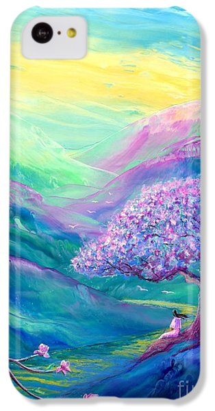 Figurative iPhone 5c Case - Meditation In Mauve by Jane Small