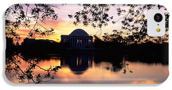 Memorial At The Waterfront, Jefferson IPhone 5c Case by Panoramic Images