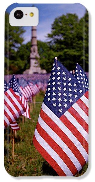 Memorial Day Flag Garden IPhone 5c Case