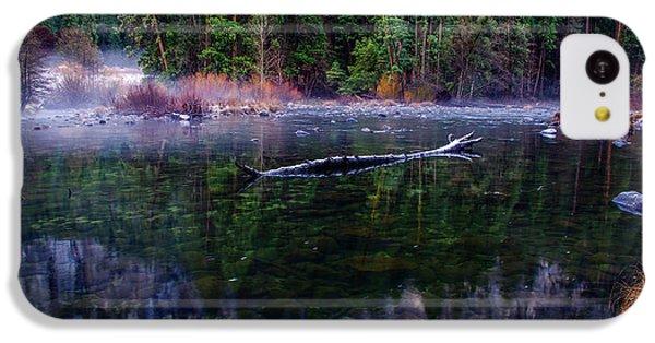 Merced River Riverscape IPhone 5c Case by Scott McGuire