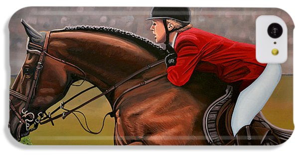 Horse iPhone 5c Case - Meredith Michaels Beerbaum by Paul Meijering