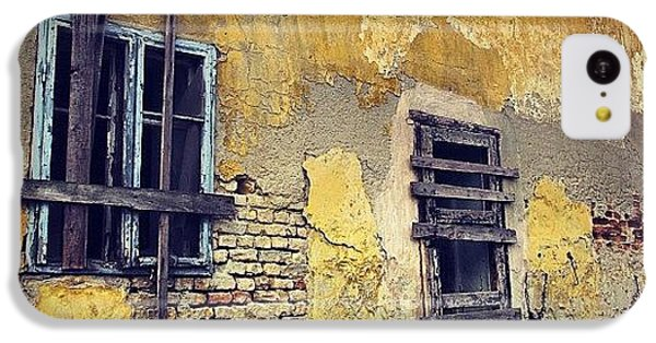Architecture iPhone 5c Case - #mgmarts #allshots_may12_yellow by Marianna Mills