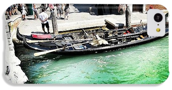 #mgmarts #venice #italy #europe #canal IPhone 5c Case by Marianna Mills