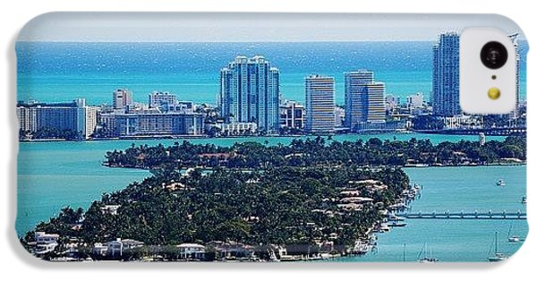 Iger iPhone 5c Case - Miami Beach & Biscayne Bay by Joel Lopez