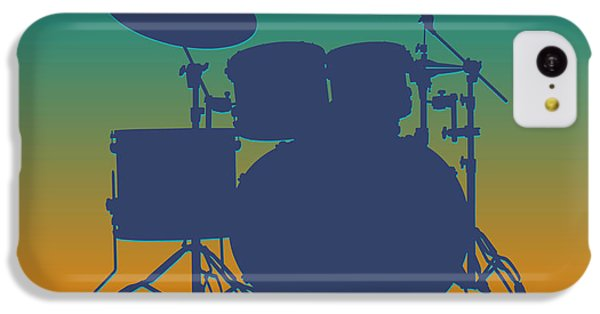 Miami Dolphins Drum Set IPhone 5c Case by Joe Hamilton