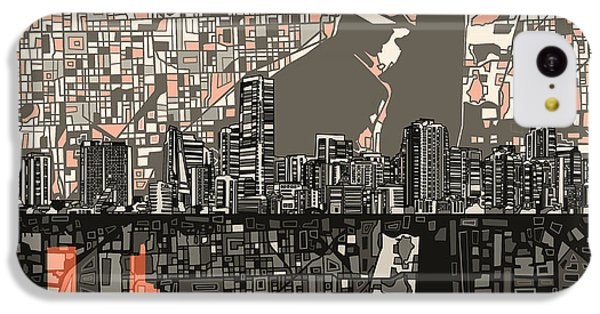 Miami Skyline Abstract 2 IPhone 5c Case
