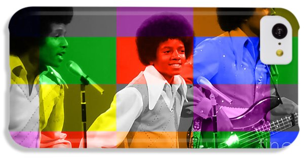 Michael Jackson And The Jackson 5 IPhone 5c Case by Marvin Blaine