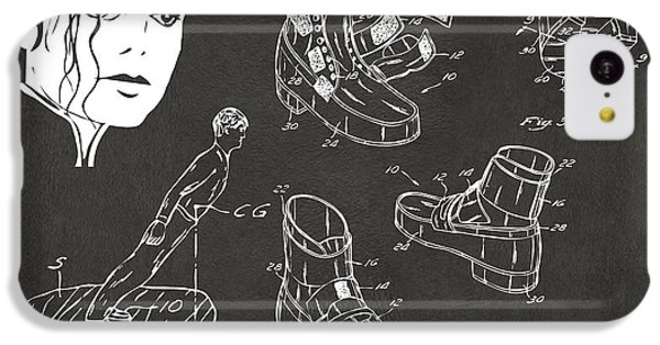 Michael Jackson Anti-gravity Shoe Patent Artwork Vintage IPhone 5c Case by Nikki Marie Smith