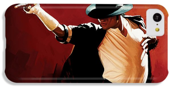 Michael Jackson Artwork 4 IPhone 5c Case by Sheraz A