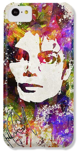 Michael Jackson In Color IPhone 5c Case by Aged Pixel