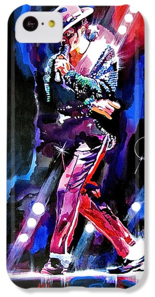 Michael Jackson Moves IPhone 5c Case by David Lloyd Glover