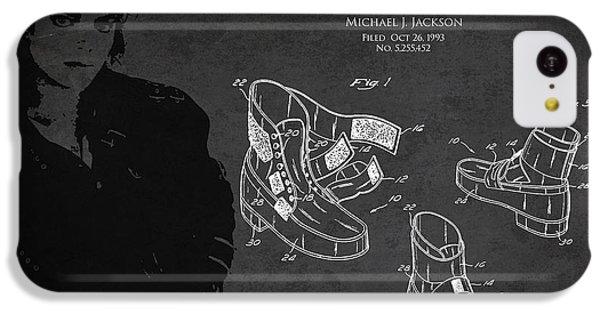 Michael Jackson Patent IPhone 5c Case by Aged Pixel