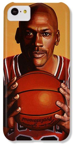 Wizard iPhone 5c Case - Michael Jordan 2 by Paul Meijering