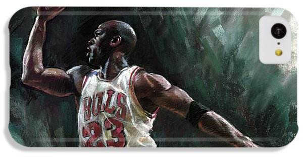 Michael Jordan IPhone 5c Case by Ylli Haruni