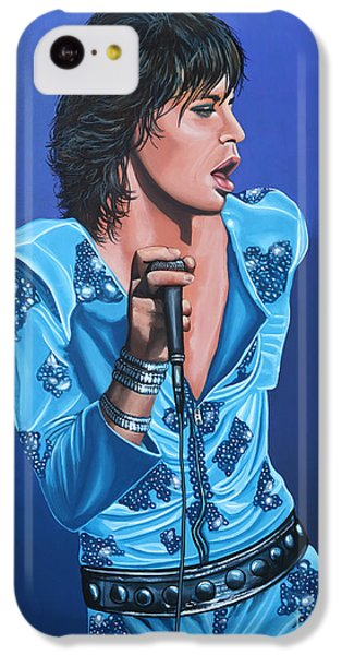Musicians iPhone 5c Case - Mick Jagger by Paul Meijering