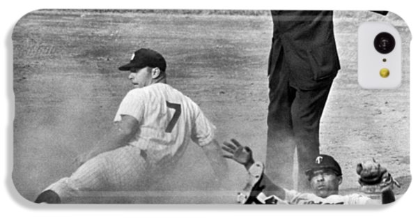 Mickey Mantle Steals Second IPhone 5c Case by Underwood Archives