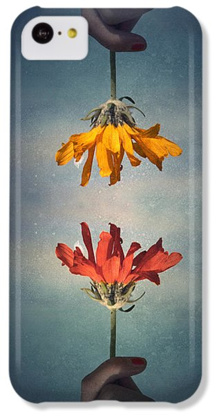 Middle Ground IPhone 5c Case by Tara Turner
