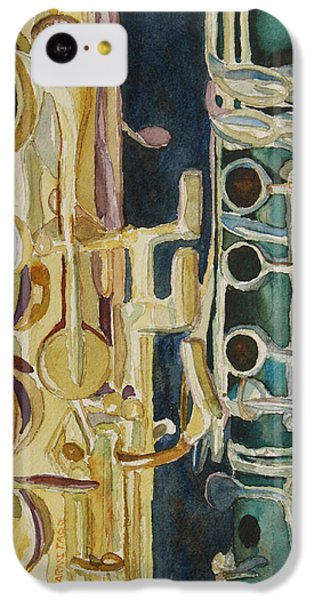 Midnight Duet IPhone 5c Case by Jenny Armitage