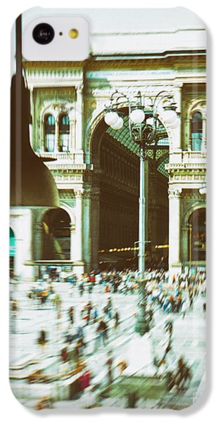 IPhone 5c Case featuring the photograph Milan Gallery by Silvia Ganora