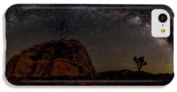 Milky Way Over Joshua Tree IPhone 5c Case