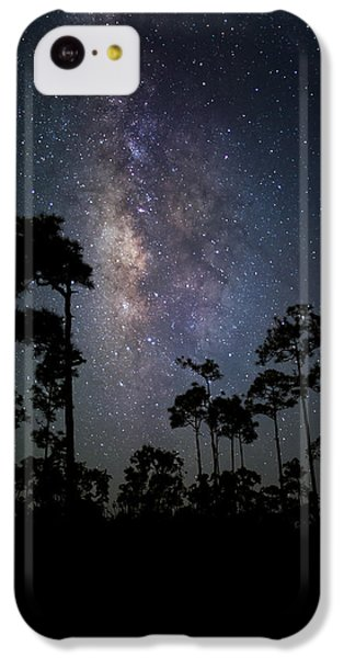 Milky Way Over The Everglades IPhone 5c Case