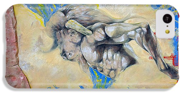 Minotaur iPhone 5c Case - Minotaur by Derrick Higgins