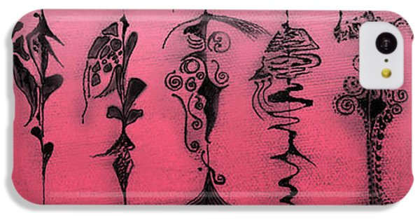 IPhone 5c Case featuring the painting Tribute To Mr. R Lauren by James Lanigan Thompson MFA