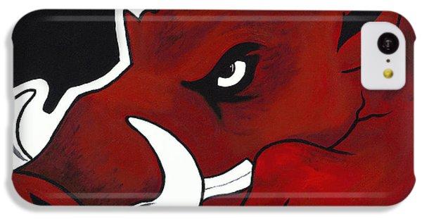 Modern Hog IPhone 5c Case by Jon Cotroneo