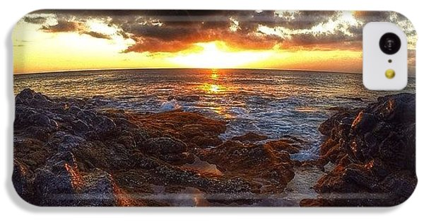Follow iPhone 5c Case - Molokai Sunset by Brian Governale