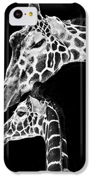 Mom And Baby Giraffe  IPhone 5c Case