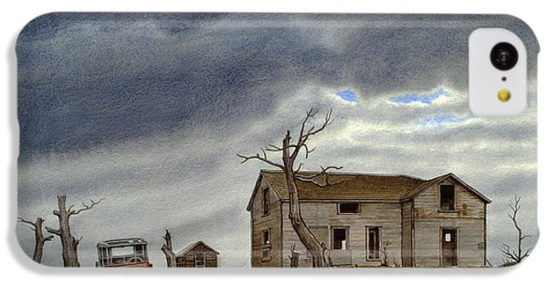 Truck iPhone 5c Case - Montana Abandoned Homestead by Paul Krapf