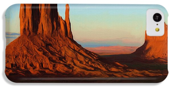 Monument Valley 2 IPhone 5c Case by Ayse Deniz