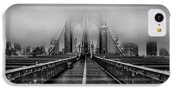 Brooklyn Bridge iPhone 5c Case - November Rain by Az Jackson