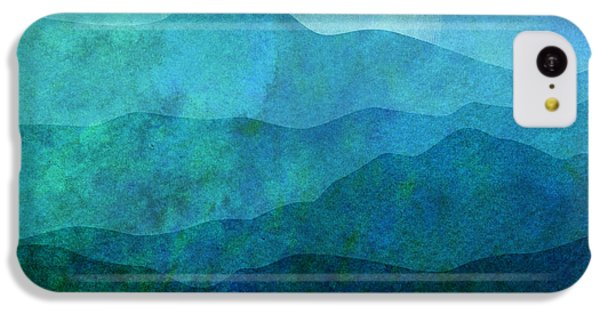 Mountain iPhone 5c Case - Moonlight Hills by Gary Grayson