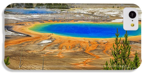 Grand Prismatic Geyser Yellowstone National Park IPhone 5c Case
