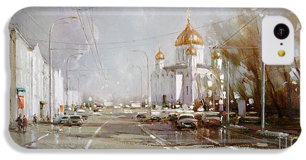 Moscow. Cathedral Of Christ The Savior IPhone 5c Case by Ramil Gappasov