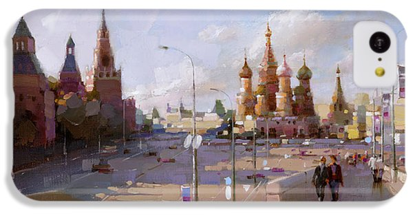 Moscow. Vasilevsky Descent. Views Of Red Square. IPhone 5c Case by Ramil Gappasov