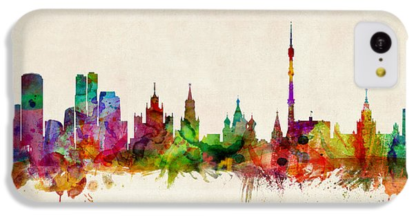 Moscow Skyline IPhone 5c Case by Michael Tompsett