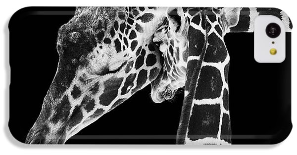 Mother And Baby Giraffe IPhone 5c Case