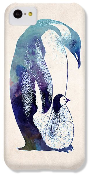 Mother And Baby Penguin IPhone 5c Case