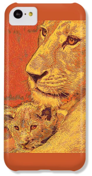 Mother And Cub IPhone 5c Case