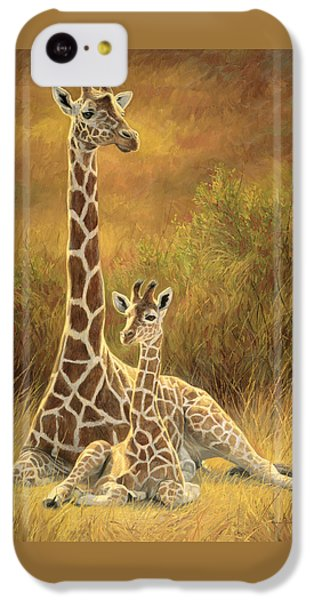 Mother And Son IPhone 5c Case by Lucie Bilodeau