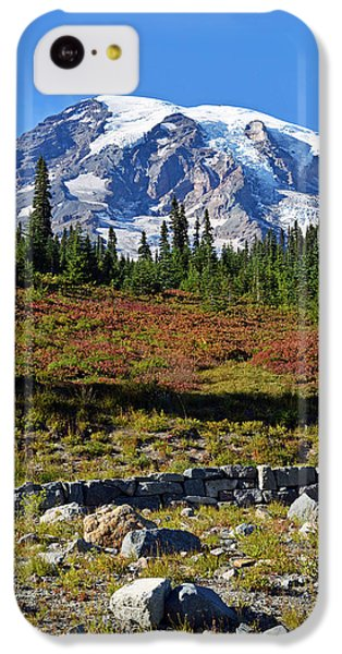 Mount Rainier IPhone 5c Case by Anthony Baatz